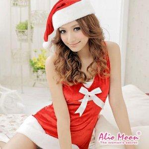 【クリスマスコスプレ】サンタクロースコスプレセット/コスプレ/コスチューム/衣装/f528 - 拡大画像