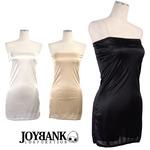透けるドレスに超オススメ ベアトップドレスインナー09000097 ホワイト