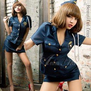 ポリス 婦人警官 コスプレ コスチューム 衣装 z1343