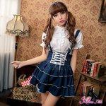 ロリィタ ゴスロリ メイド  コスプレ コスチューム 衣装 z1339