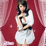 女教師風Yシャツコスチューム/コスプレ/コスチューム/セクシー衣装z960-1