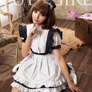 メイド メイド服 ロリィタ コスプレ コスチューム 衣装 z1377 - 拡大画像