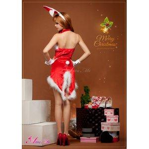 【クリスマスコスプレ】タキシード風サンタバニーコスチューム5点セット/コスプレ/コスチューム/衣装/c371-dの写真5