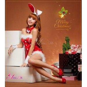 【クリスマスコスプレ】タキシード風サンタバニーコスチューム5点セット/コスプレ/コスチューム/衣装/c371-dの写真6
