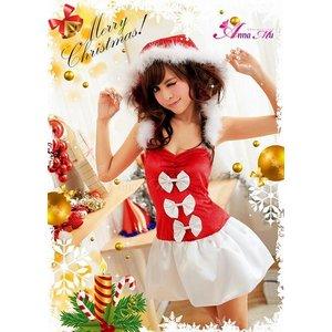 【クリスマスコスプレ】クリスマス☆サンタクロースコスプレセット/クリスマス/制服/サンタ衣装/コスプレ/コスチューム/衣装/s016-1の写真3