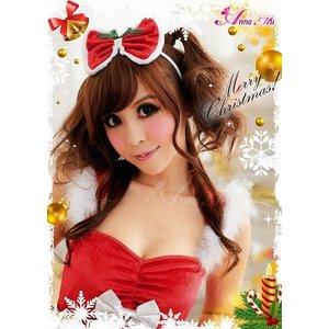 【クリスマスコスプレ】クリスマス☆サンタクロースコスプレセット/クリスマス/制服/サンタ衣装/コスプレ/コスチューム/衣装/s016-1の写真5