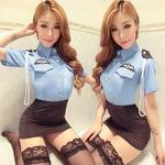 逮捕しちゃうぞっセクシーポリス3点セット☆コスプレ/コスチューム/制服/警察/婦人警官/警察官/セクシー/衣装/808765