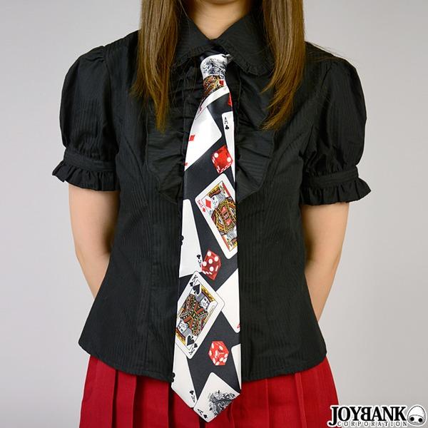 トランプ柄ネクタイ