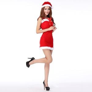 【クリスマスコスプレ/サンタクロース衣装/クリスマス衣装/コスプレ/コスチューム/イベント/パーティ/仮装】6051 f04
