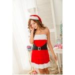 ベアトップサンタコスプレ☆888677【クリスマス/クリスマス衣装/サンタクロース衣装/クリスマスコスプレ】