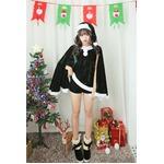 9202グリーン【3色 パーカー サンタコスチューム/サンタ/クリスマス/イベント/パーティ/コスプレ/コスチューム/仮装/衣装】