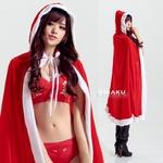 9225【マント サンタ衣装/サンタ/クリスマス/コスプレ/コスチューム/イベント/パーティ/仮装/衣装】
