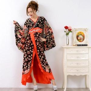 0673/ゴージャスビジューロング 着物ドレス/...の商品画像