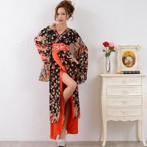 0673/ゴージャスビジューロング 着物ドレス...の紹介画像2