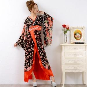 0673/ゴージャスビジューロング 着物ドレス...の紹介画像3