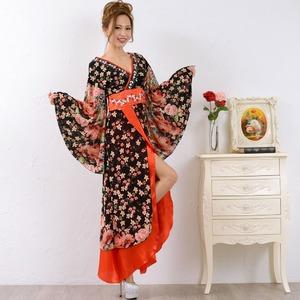 0673/ゴージャスビジューロング 着物ドレス...の紹介画像4