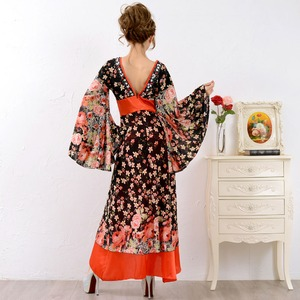 0673/ゴージャスビジューロング 着物ドレス...の紹介画像5