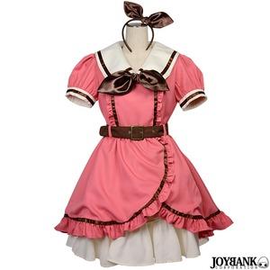 ファンシーマカロン ツーピース衣装セット 01000738M-pink【メイド/ロリータ/イベント/コスプレ/コスチューム/メイド服/衣装】