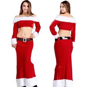 8897【クリスマス/サンタクロース/コスプレ/コスチューム/イベント/パーティ/仮装/衣装】の画像1