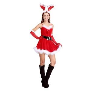 5301【クリスマス/サンタクロース/コスプレ/コスチューム/イベント/パーティ/仮装/衣装】