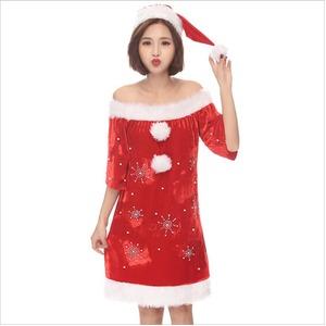 クリスマス サンタJ8548【クリスマス/コスプレ/コスチューム/イベント/パーティ/仮装/衣装】