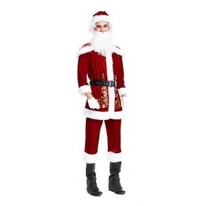 大きいサイズ クリスマス サンタJ8313L 男性【クリスマス/サンタクロース/コスプレ/コスチューム/イベント/パーティ/仮装/衣装】