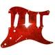 GP Factory(GPファクトリー) ストラトキャスター用ピックガード 57年式8穴タイプ レッドトートイズ(赤鼈甲)4プライ - 縮小画像1