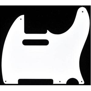 GP Factory(GPファクトリー) テレキャスター用ピックガード 52年式5穴タイプ ホワイト1P - 拡大画像
