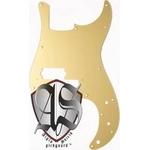 GP Factory(GPファクトリー) プレシジョンベース用ノイズ低減ピックガード ゴールドミラー