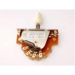 GP Factory(GPファクトリー) 3WAYレバースイッチ オープン ミントグリーンボタン (エレキギターパーツ)
