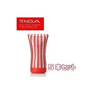 TENGA(テンガ) ソフトチューブカップ スタンダード【5本セット】 - 拡大画像