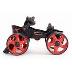 オフロード スコッピ MLT-LR Lサイズ 黒・赤 【ローラースケート】