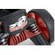 オフロード スコッピ MLT-LR Lサイズ 黒・赤 【ローラースケート】 写真3
