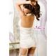 コスプレ 2011新作 胸元刺繍ホワイトランジェリー4点セット コスチューム z436 - 縮小画像3
