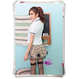 コスプレ チェックのミニスカートスクール・学生服