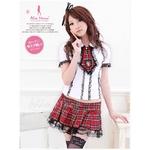 アキバ系 女子高生 制服セット コスプレ コスチューム f205