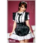 2012新作 蝶ネクタイの可愛いメイドさん/コスプレ コスチューム z600
