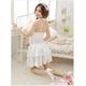 コスプレ 純白ウエディングドレス セット f408 - 縮小画像4