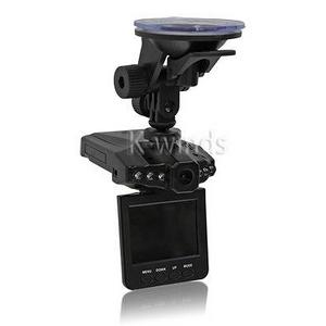 2.5インチモニター付きHD車載カメラ - 拡大画像
