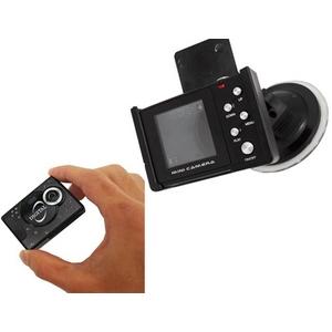 カラーモニター付き多機能車載ミニカメラ YSKR-015 4G MicroSDカード付 【ドライブレコーダー】