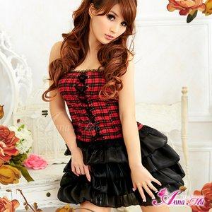 ふんわり可愛いパニエ/黒 コスプレ衣装