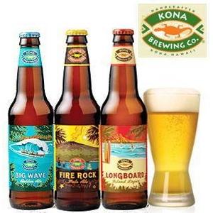 KONA(コナ) 3種類セット 355ml × 24本(各8本) 【ハワイビール】 - 拡大画像