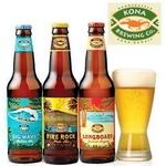 KONA(コナ) 3種類セット 355ml × 24本(各8本) 【ハワイビール】の画像