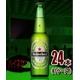 【海外ブランドビール】ハイネケン ロングネック 330ml 24本(1ケース) - 縮小画像1