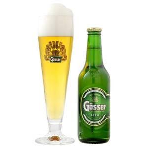オーストリア【海外ビール】 ゲッサー ピルスナー 330ml 24本 - 拡大画像