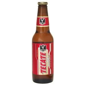 メキシコ【海外ビール】 テカテビール 瓶 355ml 24本入 - 拡大画像