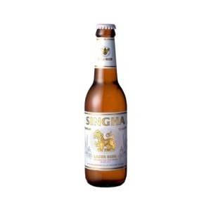 タイ【海外ビール】 SINGHA BEER シンハービール瓶(24本) - 拡大画像
