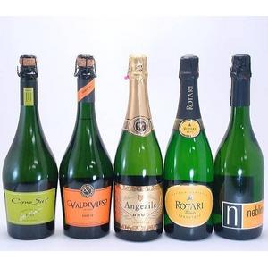 【スパークリングワイン】 ロータリー タレント ブリュット 含む お買得5本セット - 拡大画像