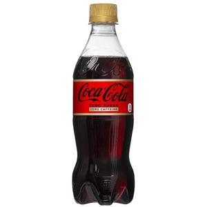 【飲料】コカ・コーラ ゼロフリー  (コカコーラ) Coca Cola Zero 500ml 1ケース(24本入)カフェインゼロ - 拡大画像