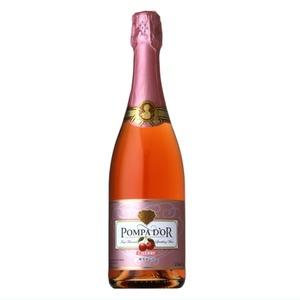 【スパークリングワイン】 ポンパドール Pompa Do'r サクランボ 750ml スパークリングワイン